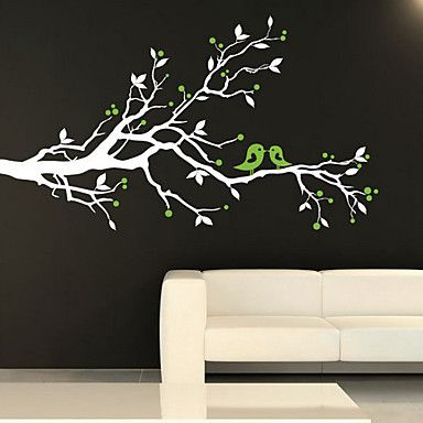 White Tree Room Decor