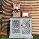 Rustic farm cupboard upcycle by For The Love Creations. South Australia.