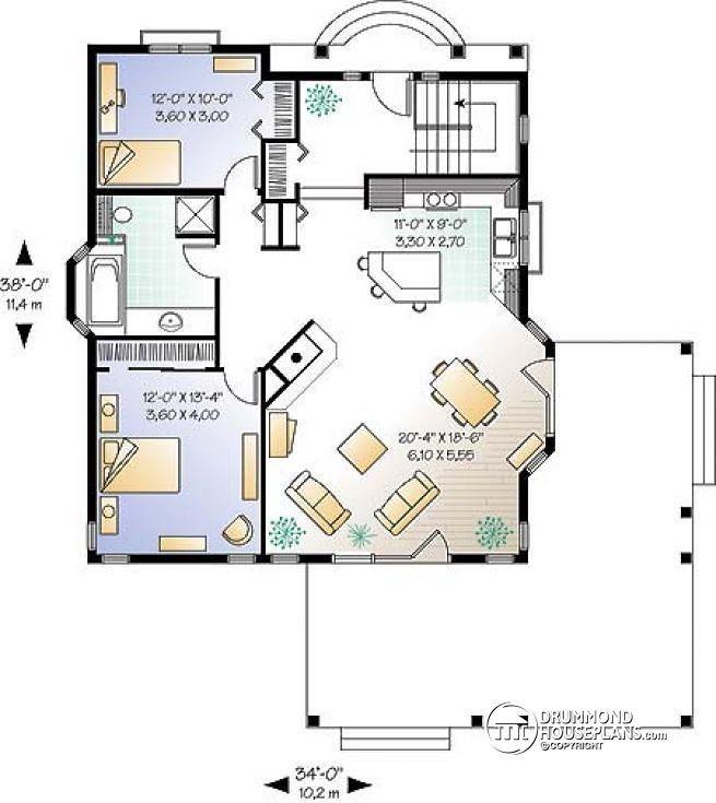 Miraculous 1000 Images About House Plans On Pinterest Bedroom Floor Plans Largest Home Design Picture Inspirations Pitcheantrous