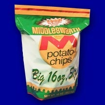 Middleswarth Chips, I wish I could buy them in NY