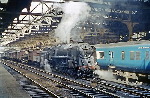 92000 at Snow Hill | BR 9F 92000, an 86A Newport engine haul… | Flickr