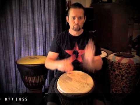 Djembe patterns for beginners - Patterns 7 to 12