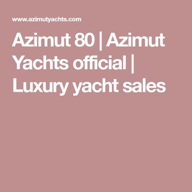 Azimut 80 | Azimut Yachts official | Luxury yacht sales