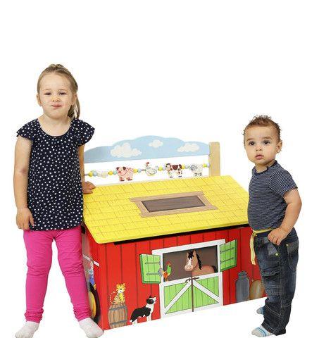 Happy Farm Toy Box