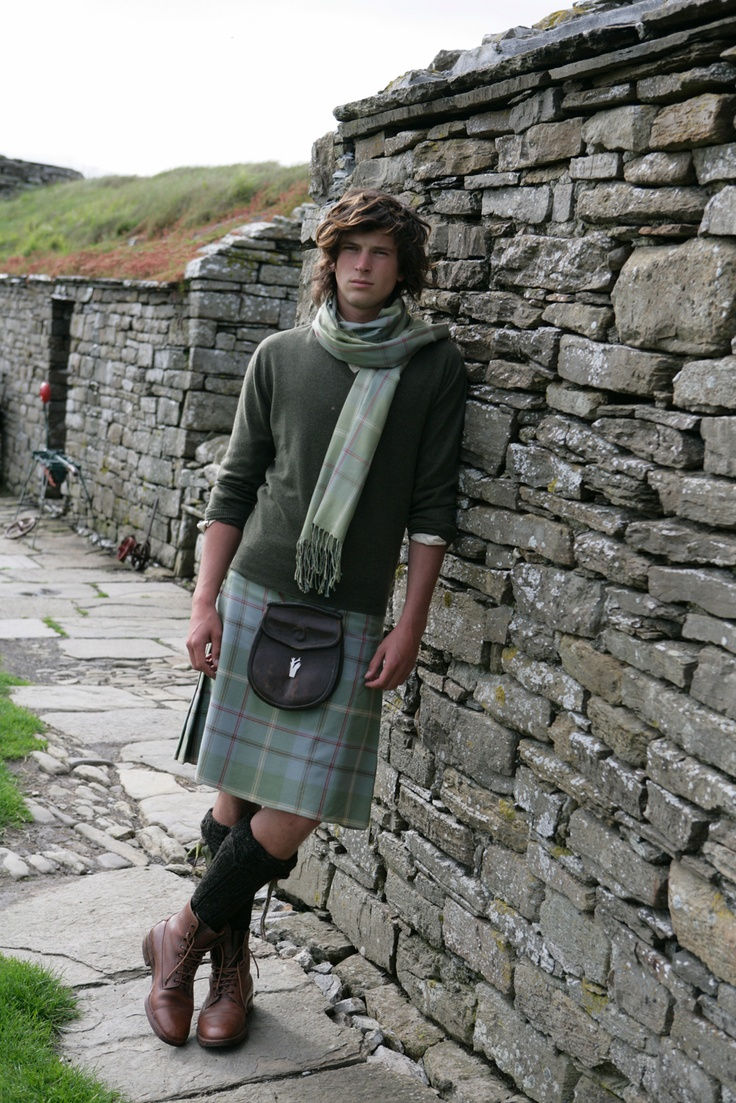 Archie wears an ANTA Kilt and silk scarf. To see the full range of Fashion Classics, visit http://anta.co.uk/made-in-scotland/fashion-classics/ #kilt #scarf
