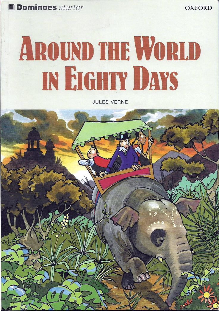 'Around the World in Eighty Days' | The English Language Bookshop Online, Portugal