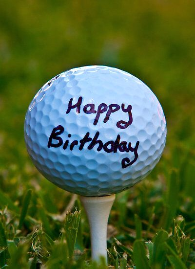 Happy Birthday Golf Ball!