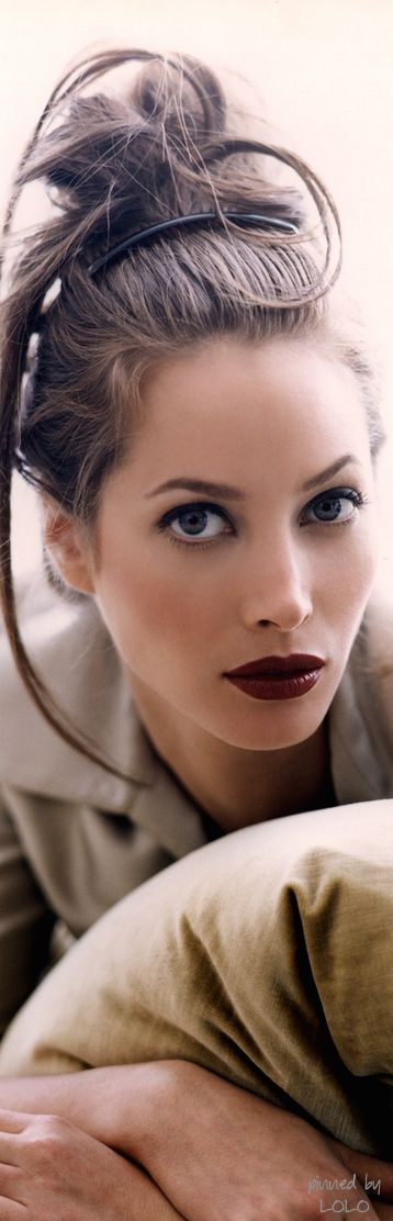 Christy Turlington by Walter Chin of Marek&Associates