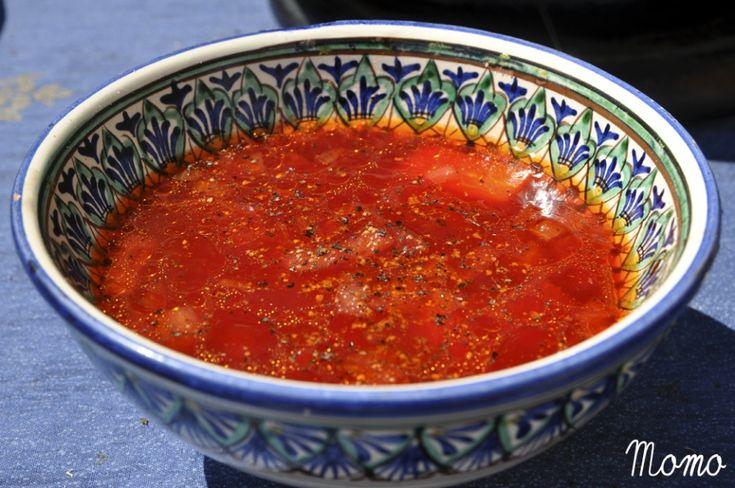 Řepová polévka s mrkví
