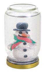 Make your own snow globe this Christmas!