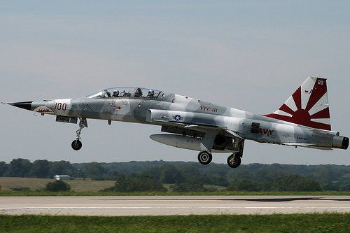 One of the the best looking F-5F Tiger II (IMO) from VCF-111