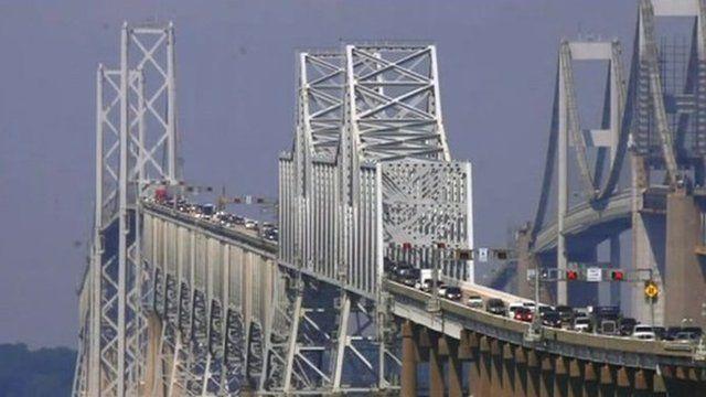 BBC News - Chesapeake Bay Bridge: Saving drivers too scared to cross