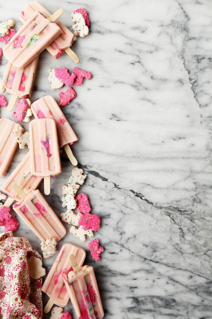 Circus Animal Cookie Pudding Pops - The Candid Appetite