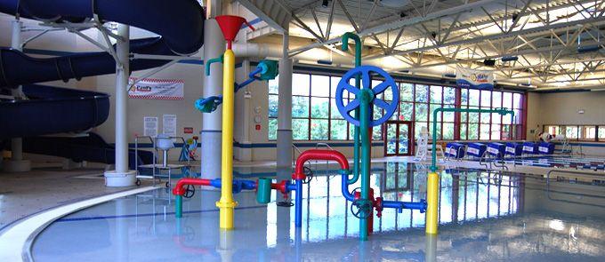 Oakbrook Family Aquatic Center Open Year Round Indoor Waterpark Water Park Brook Park