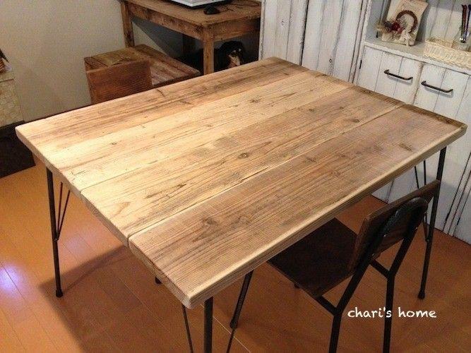 DIYでテーブル家具の初心者でも簡単な作り方・図面集|収納も可能の1番目の画像