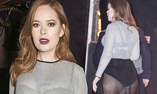 http://www.dailymail.co.uk/tvshowbiz/article-3331715/Beauty-blogger-Tanya-Burr-suffers-rare-fashion-fail-flashes-underwear-semi-sheer-blouse-pleated-skirt-star-studded-awards-show.html