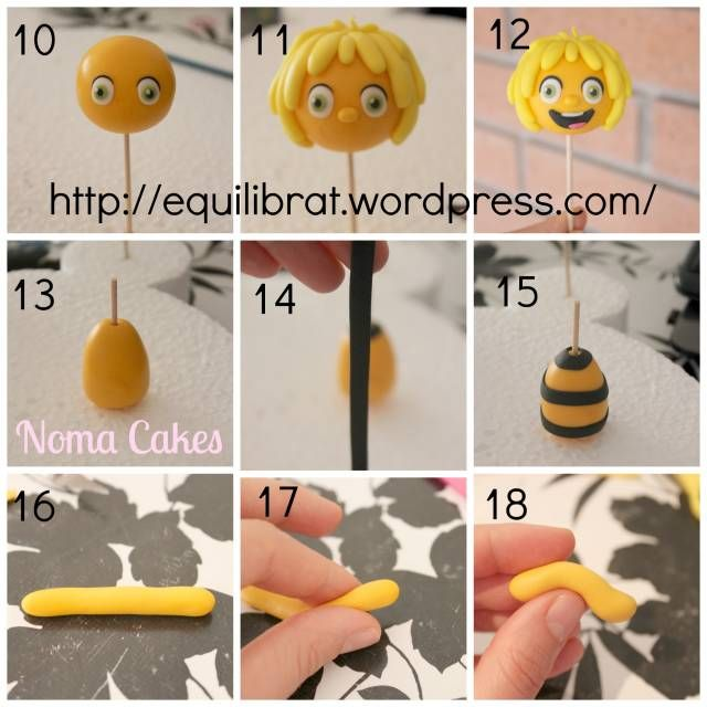 MAYA BEE/ DORA EXPLORER TUTORIAL - CakesDecor