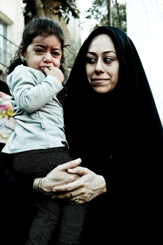 Szyicka madonna, Iran. foto: Dorota Chojnowska
