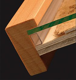 econospace..spacers for framing art behind glass....to buy and many tips & videos for framing.