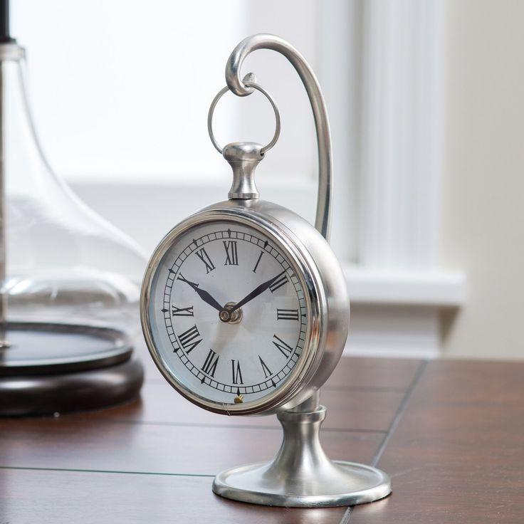 Prescott Hanging Clock | from hayneedle.com