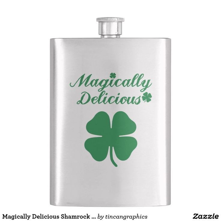 Magically Delicious Shamrock Flaskst patricks day decorations, st patricks day crafts, st patricks day, st patricks day party, st patrick's day ideas, st. patrick's day activities, t shirts #saint #saintpatricksday #stpatricksday #design #trend #saintpatricksday2018 #patricks #greenday #stpatricksday2018 #style #StPatricksFest #SaintPatricksDay #saint #shamrock #StPatricksDayShirt #muglife #mugs #mug #pillows #pillows #coffee #flask