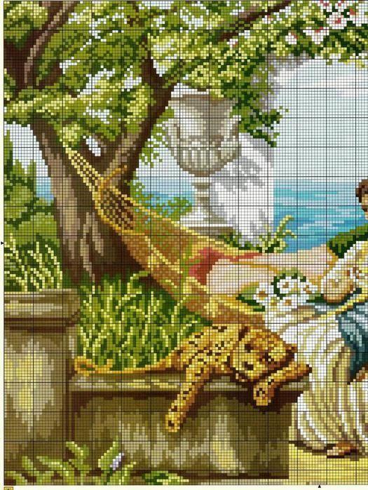 En el jardín con el tigre