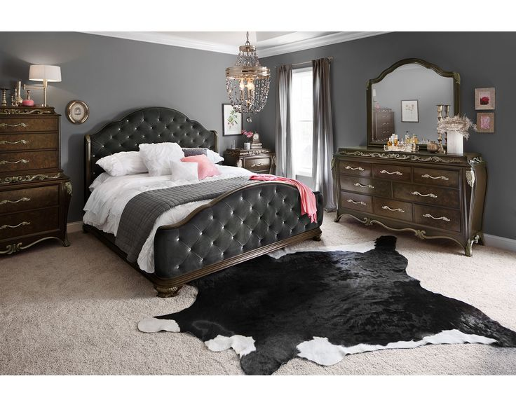 Dark and delicious the anastasia bedroom suite by pulaski Southampton walnut king bedroom collection