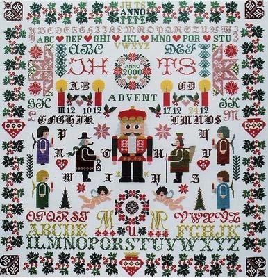 Nutcracker Cross Stitch Pattern by Jan Houtman by GriffithGardens, $23.00