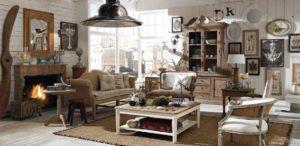 interior rumah vintage