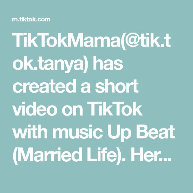 Tiktokmama Tik Tok Tanya Has Created A Short Video On Tiktok With Music Up Beat Married Life Push Up Challenge Workout For Beginners High Intensity Workout