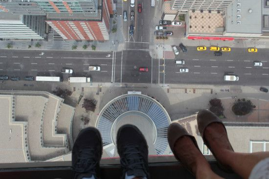 View from the Calgary Tower!