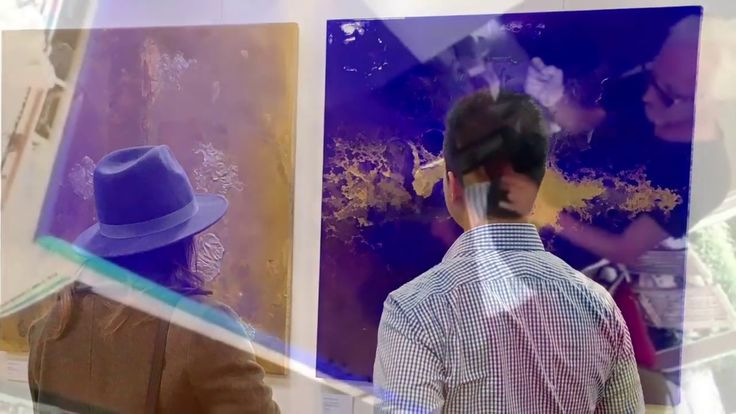 Imre Badonski | the deep blue paintings