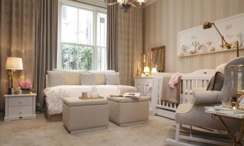 Non-Pink Nursery Ideas for Girls | Luxury Nursery Furniture