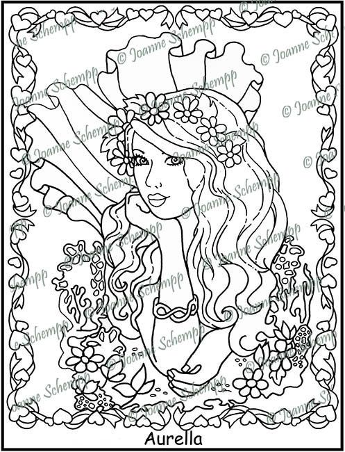 Adult Printable Coloring page Papercraft Digital Image