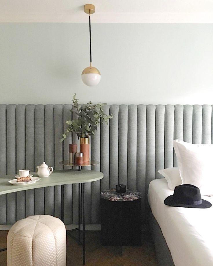 Florence Deau styles the Palette Desk By &Tradition At Hôtel Bachaumont, Paris | Flodeau.com