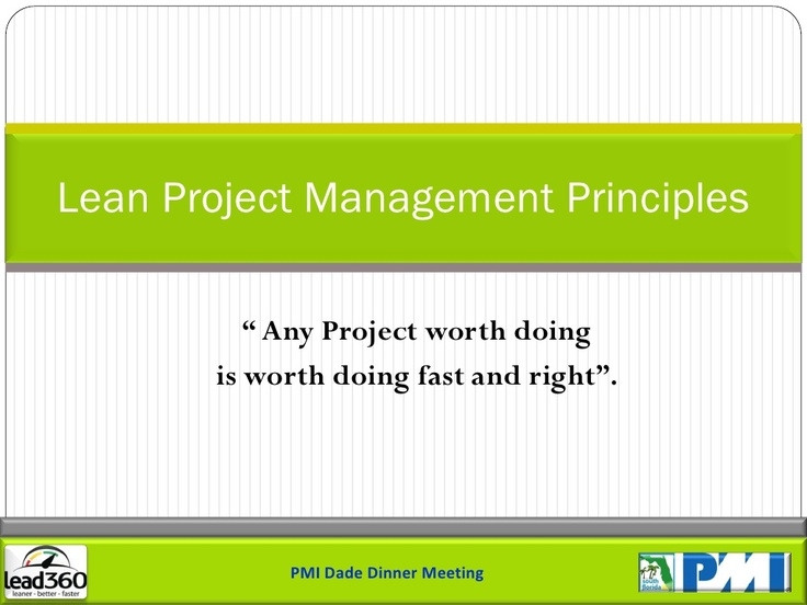 lean-project-management-principles-for-slide-share-3229562 by Hector Rodriguez via Slideshare