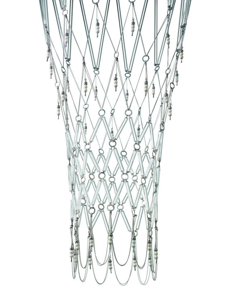 Detail of Chiari di Lunae by Vistosi and Morellato  #design Veneziano+Team #GianniVeneziano #LucianaDiVirgilio #Morellato #Vistosi #ChiaridiLunae #Starnet #project #design #art #jewellamp