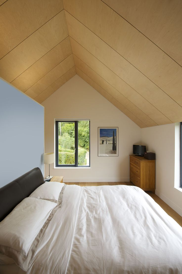 Birch ply ceiling by Penton Architects