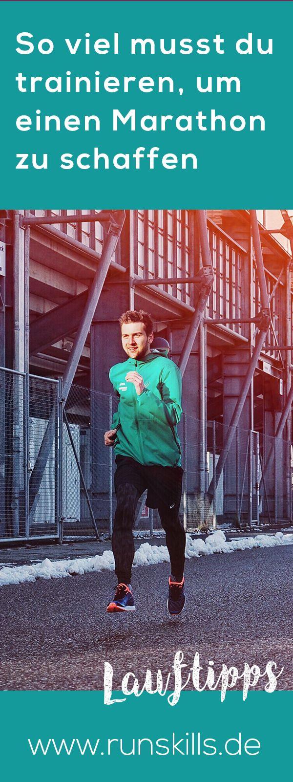 Wie viel musst du tatsächlich trainieren, um einen Marathon zu laufen? #marathon #laufen #marathonlaufen
