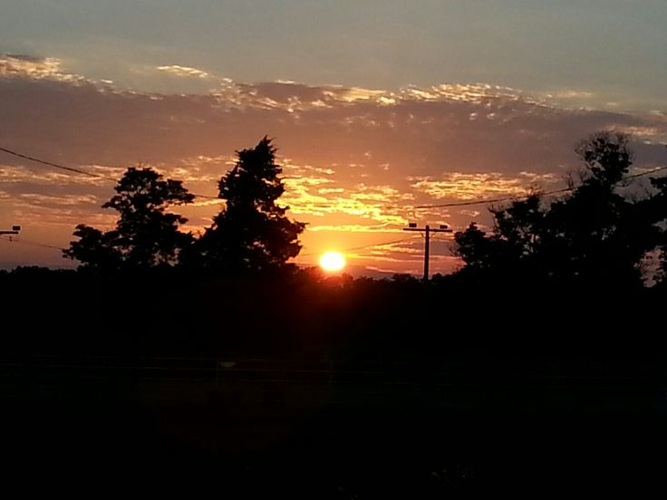 I believe this was taken by Kimberlee in Missouri... She gets the most awesome sunsets...