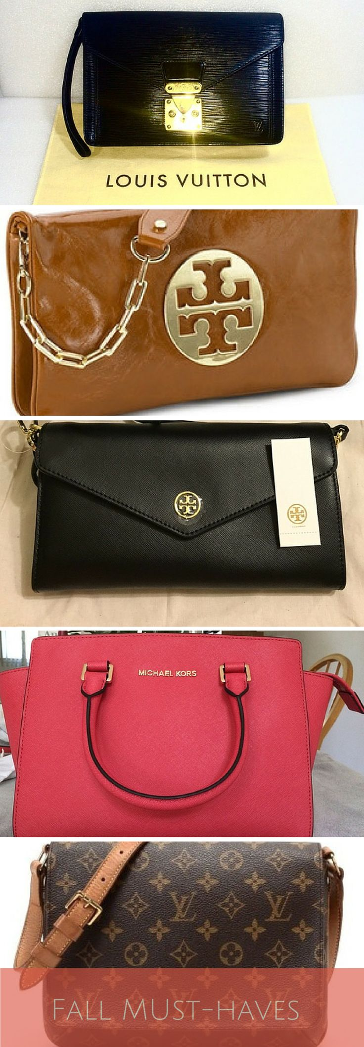 Never pay full price again! Shop Tory Burch, Michael Kors, Louis Vuitton and other brands at up to 70% off! As featured in Cosmopolitan & Good Morning America.