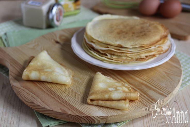 CREPES (ricetta perfetta con o senza bimby)