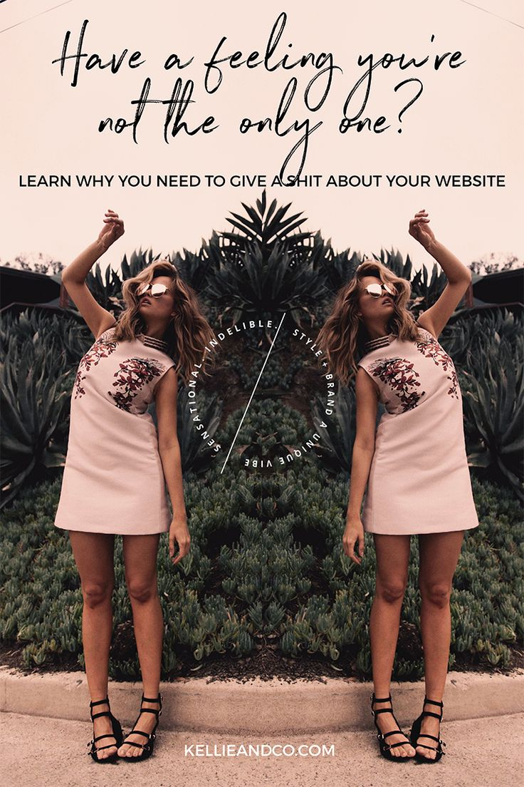 Having an online business is hard, and finding out your not the only doing what you do makes it even harder. This post will explain why you need to give sh*t about your website, so that you can stand out and connect with your dream clients.