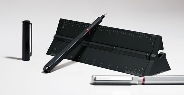 The world's most versatile Technical Pen and Drafting Scale. Supports 50+ precision-point refills, modular upgrades and so much more. black Stealth version.