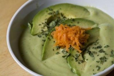 Ricette estive: vellutata di cetrioli e avocado