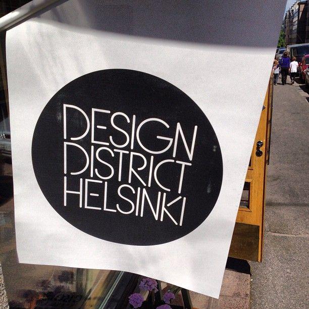 Helsinki Design District #helsinki