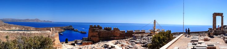 Rodos Rhodes - The Acropolis of Lindos