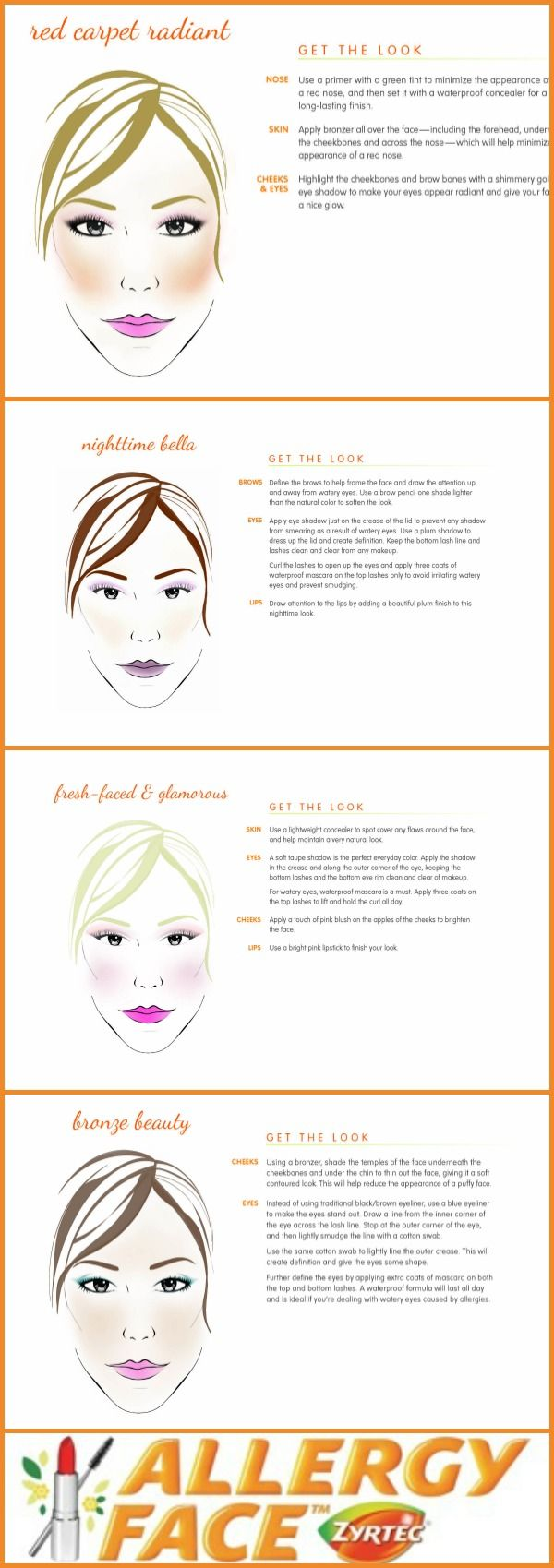 MakeUp Tips for Watery Eyes & Other Allergy Symptoms