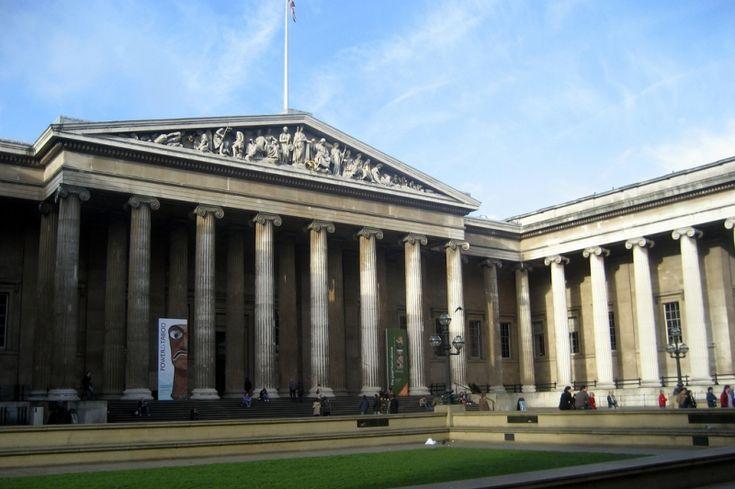 El museo Británico de #Londres es uno de los más grandes y famosos del Mundo porque cuenta con una de las mayores colecciones de antigüedades del Mundo.