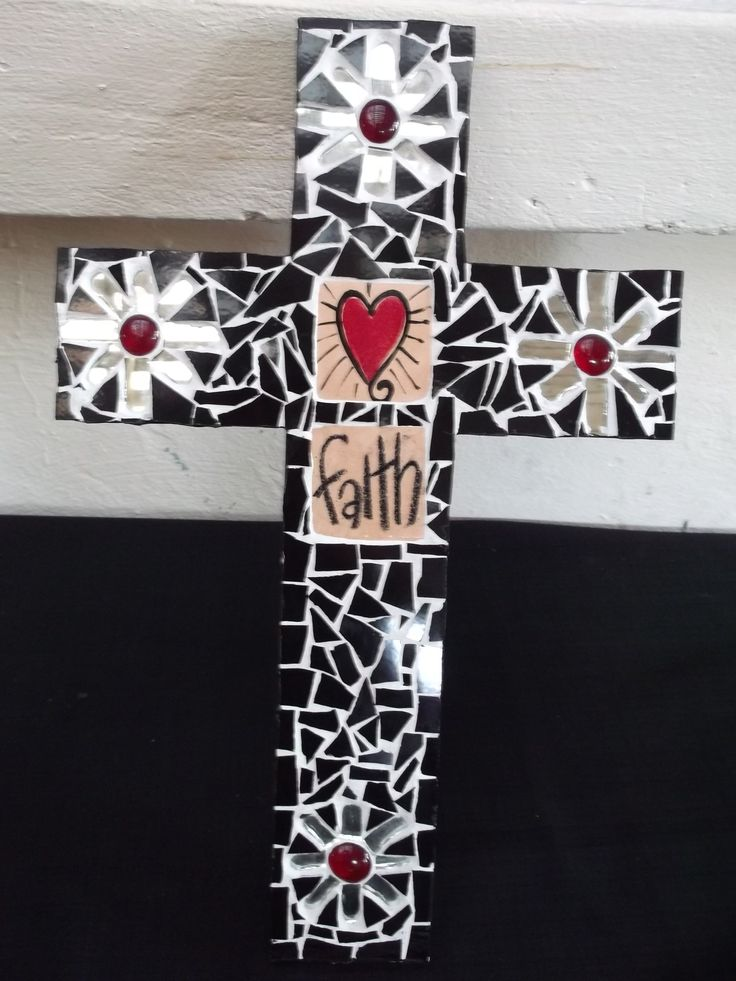 """Mosaic Cross by """"One of a Kind"""""""
